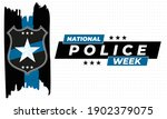 national police week.... | Shutterstock .eps vector #1902379075