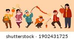 isolated people characters for... | Shutterstock .eps vector #1902431725