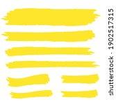 yellow highlight marker lines.... | Shutterstock .eps vector #1902517315