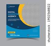 set digital business marketing...   Shutterstock . vector #1902568822