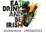 """happy st. patrick's day. eat ... 