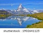 The Mirror View Of Matterhorn...