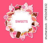 sweet shop banner with sweets... | Shutterstock .eps vector #1902658132