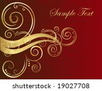 decorative background | Shutterstock .eps vector #19027708