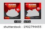 restaurant food social media...   Shutterstock .eps vector #1902794455