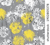 seamless pattern with hand... | Shutterstock .eps vector #1902805378