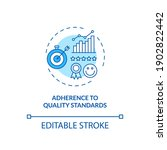 adherence to quality standards... | Shutterstock .eps vector #1902822442