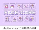 face care word concepts banner. ...