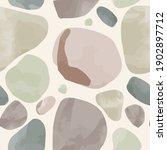 watercolor vector stone... | Shutterstock .eps vector #1902897712