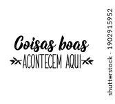 brazilian lettering.... | Shutterstock .eps vector #1902915952