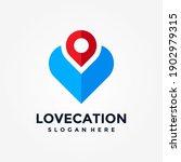 love location logo design... | Shutterstock .eps vector #1902979315