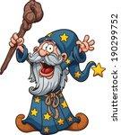Cartoon Wizard. Vector Clip Art ...
