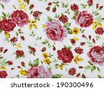 vintage style of tapestry... | Shutterstock . vector #190300496
