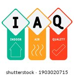 iaq   indoor air quality... | Shutterstock .eps vector #1903020715