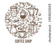 cafeteria or cafe menu ...   Shutterstock .eps vector #1903025035