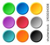 multi color 3d circle icon... | Shutterstock .eps vector #1903034308