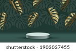 luxury gold marble art design... | Shutterstock .eps vector #1903037455