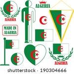 algeria. vector illustration | Shutterstock .eps vector #190304666