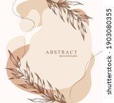 vector abstract card template... | Shutterstock .eps vector #1903080355