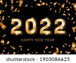 2022 new year card template... | Shutterstock .eps vector #1903086625