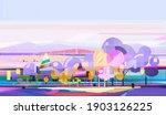 illustration nature graphic... | Shutterstock . vector #1903126225