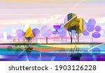 illustration nature graphic... | Shutterstock . vector #1903126228