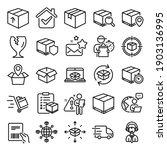 logistics  shipping document...   Shutterstock .eps vector #1903136995