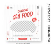 food menu banner social media... | Shutterstock .eps vector #1903142842