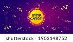 super sale banner. festive... | Shutterstock .eps vector #1903148752
