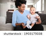 cheerful african american... | Shutterstock . vector #1903175038