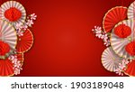 red and white banner with... | Shutterstock .eps vector #1903189048