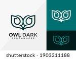 owl bird logo design  brand... | Shutterstock .eps vector #1903211188