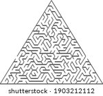 vector pattern with a gray... | Shutterstock .eps vector #1903212112