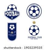 set of soccer logo or football...   Shutterstock .eps vector #1903239535