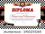 race winner diploma vector... | Shutterstock .eps vector #1903255285