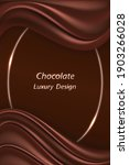 chocolate luxury background for ... | Shutterstock .eps vector #1903266028