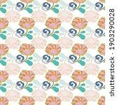 chinese geometric elegant peony ... | Shutterstock .eps vector #1903290028