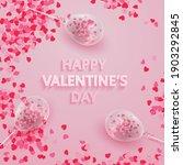 postcard for happy valentine's... | Shutterstock .eps vector #1903292845