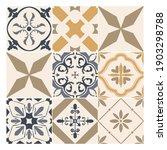 abstract decorative tiles.... | Shutterstock .eps vector #1903298788