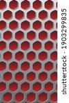 decorative mesh. gray pattern... | Shutterstock .eps vector #1903299835