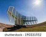 Military Russian Radar Station...