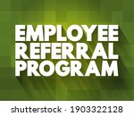 employee referral program text... | Shutterstock .eps vector #1903322128