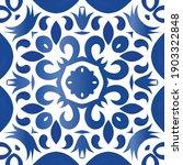 decorative color ceramic... | Shutterstock .eps vector #1903322848