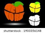 new york is big apple in 3d ... | Shutterstock .eps vector #1903356148