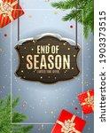 winter end of season sale... | Shutterstock .eps vector #1903373515