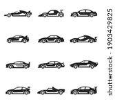 racing cars bold black... | Shutterstock .eps vector #1903429825