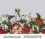 ornate border with vintage... | Shutterstock .eps vector #1903465078