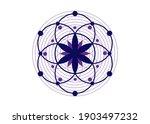 Seed Of Life Symbol Sacred...