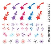 sparkle lights stars set.... | Shutterstock .eps vector #1903537792