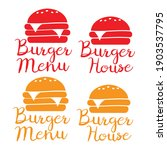 burger and fast food logo.... | Shutterstock .eps vector #1903537795